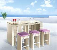 Outdoor Bar Table Set Bar Height Pub Table Sets U2013 Thelt Co