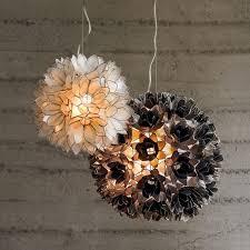 Flower Pendant Light Lotus Flower Pendant Light With Ideas Hd Images 73096 Kengire