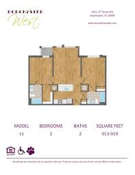 floor plans apartments for rent in washington dc dorchester west