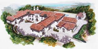 spanish style estate to be built in hillsborough ca homes of this spanish mediterranean style estate is going to be built at 3115 ralston ave in hillsborough ca it will be situated on 1 7 landscaped acres and boast