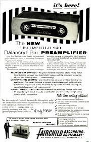 Fairchild Retro Vintage Modern Hi Fi Fairchild