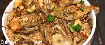 cuisiner les artichauts violets risotto aux artichauts violet