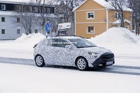 opel winter scoop 2018 opel vauxhall corsa will be a truly new model