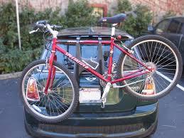 rear bike light rack mount cooper single bike rack rear mount