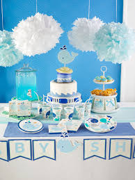 whale themed baby shower interior design baby shower whale theme decorations home