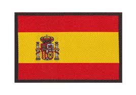 Flag Photos Spain Flag Patch Color Identifikation Equipment Clawgear Com