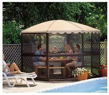Backyard Screen House by Patio Sun Screen Ebay