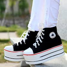 Comfortable Canvas Sneakers The Latest Fashion And Comfortable In Summer Increased Canvas