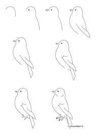 25 bird drawings ideas simple bird drawing