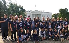 students explore history in washington dc ojai valley school