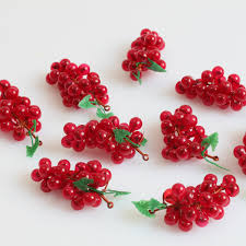 new arrival christmas decoration product artificial grape bunch