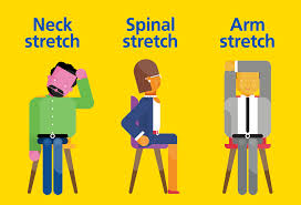 Neck Exercises At Desk Five Tips For Staying Healthy At Your Desk Aviva