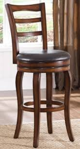 Wooden Swivel Bar Stool Wood Rustic Bar Stools Foter