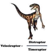 Velociraptor Meme - velociraptor distraptor timeraptor velociraptor meme on me me