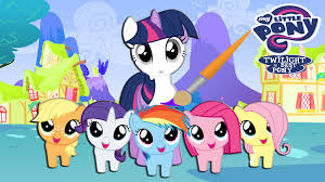 my little pony coloring book twilight sparkle and babies