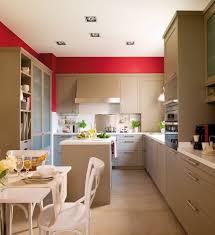 meuble de cuisine cing peinture cuisine avec meubles blancs 30 idées inspirantes