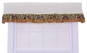 amazon com ellis curtain kitchen collection tuscan hills grapes