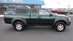 nissan frontier xe king cab 2001 nissan frontier xe extended cab 4 4 with canopy local trade