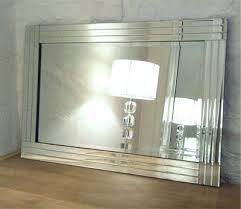 Beveled Bathroom Mirror by Wall Mirror Beveled Bathroom Mirror Tiles Beveled Wall Mirror