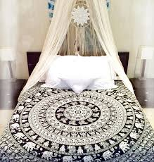 Coverlets On Sale Indian Bohemian Hippie Mandala Bedding Set Queen Size Bedspreads