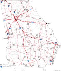 county map ga map of