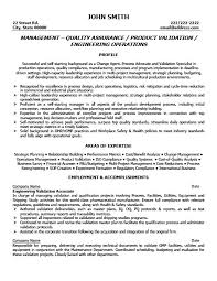 quality resume templates 28 images best quality assurance
