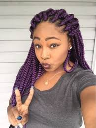 medium box braids with color tumblr purple box braids tumblr braids protective styles pinterest