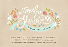 baby shower registries invitation wording
