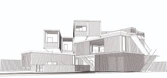shipping container house brisbane future city architects