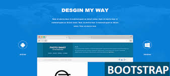 bootstrap landing page nice html templet