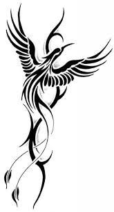 thin tribal phoenix neck tattoo photo 2 2017 real photo