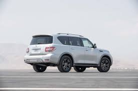 nissan armada 2017 nissan armada platinum test review motor trend