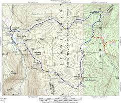 Mt Washington Map by Mounts Pierce And Jackson Via The Crawford Path And Webster Cliff