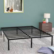 alwyn home classic metal platform bed frame u0026 reviews wayfair