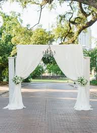 wedding arch garland ceremony arch garland with drapery search ceremony