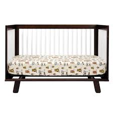 Hudson 3 In 1 Convertible Crib Babyletto Hudson 3 In 1 Convertible Crib In Two Tone Espresso And