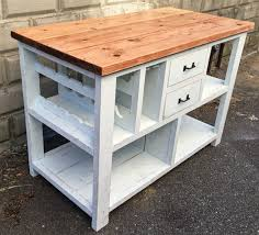 shabby chic kitchen island handmade farmhouse furniture designs you could diy