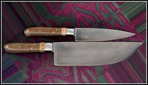 Carbon Kitchen Knives by Korean Style Carbon Steel Kitchen Knives Made By Michael Moses