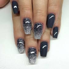 diamond asphalt grey nail art nails art mania nails designs with