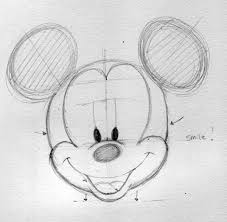 draw disney characters mickey mouse drawing factory