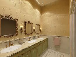 Victorian Style Mirrors For Bathrooms A Timeless Affair 15 Exquisite Victorian Style Powder Rooms