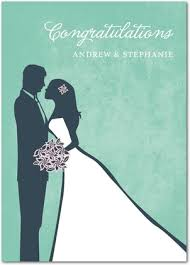 wedding congratulations card wedding silhouette treat wedding congratulations card