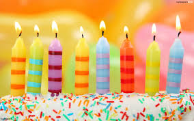 birthday candles colorful birthday candles hd wallpaper
