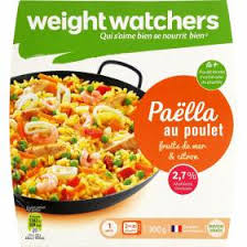 plat cuisiné weight watcher plat cuisiné paëlla au poulet weight watchers