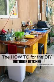 diy outdoor kitchen how to