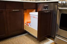 Kitchen Cabinet Trash Bin by Shelfgenie Of New Hampshire Roll Out Shelves Are Designed To