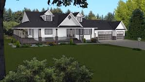 ranch house plans with 3 car garage amazing country style house