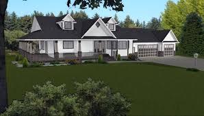 walkout basement floor plans ranch 3 car garage house plans by edesignsplans ca 8