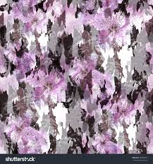 camo flowers abstract pattern flowers floral camo background stock illustration