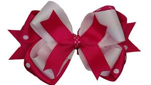hair ribbon how to make stacked hair bows